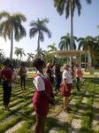 Rinden homenaje Trabajadores del Sindicato de la Cultura en Santiago de Cuba a Raúl Gómez García